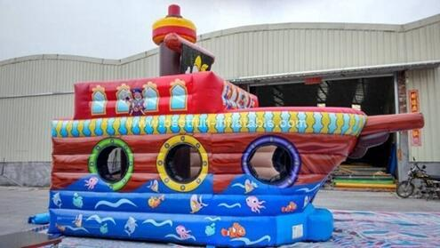 Inflatable Bounce House - Children's growth paradise