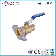 Brass Ball Valve with Rotating Flange Xsolder End