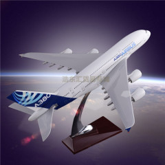 Scale Model Aircraft Simulation Plane Model Customization Airbus 380 Original Aircrafts Resin Manufacturer Direct Sales