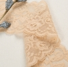 Wholesale Newest Design Elastic Lace Trim for Lingerie Underwear Dress Garments