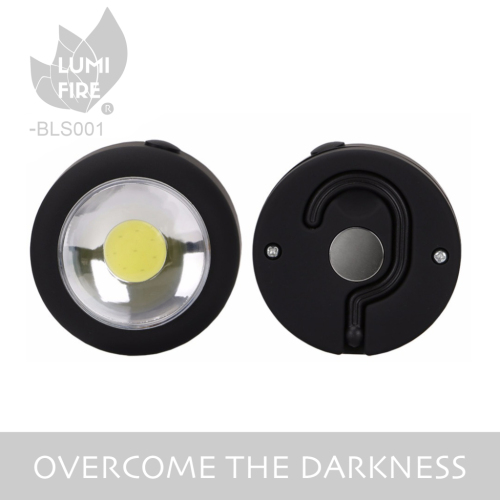 3W COB led work light with magnet and hook at backside