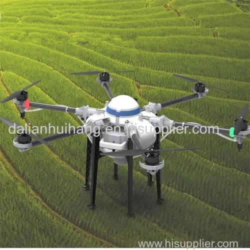 GPS drone long range plant protection drone10L agricultural drone hexacopter crop sprayer