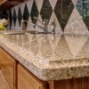 granite marble combination countertop kitchen barbeque DIY tile Countertop indoor and outdoor
