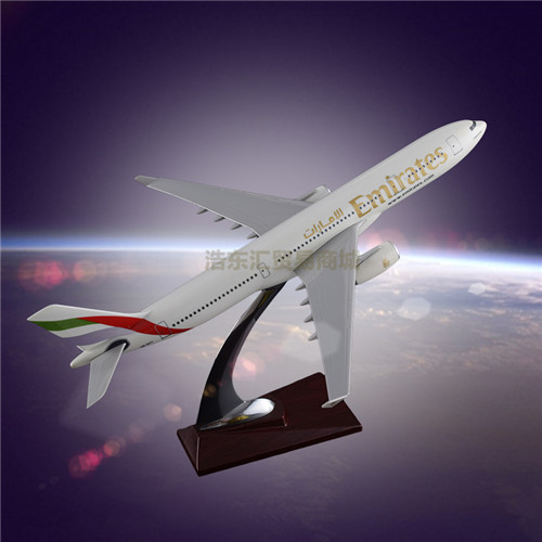 Model Airplane Simulation Resin crafts Model OEM Airbus 330 Egypt Airways