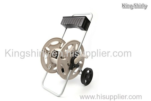 hose reel cart w/ storage tray