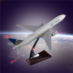 The Model of Aircraft for Sale United Airlines Boeing 777 Resin