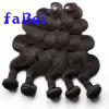 Wholesale indian hair in india 100 natural raw indian virgin remy deep curly wave human hair extension weft