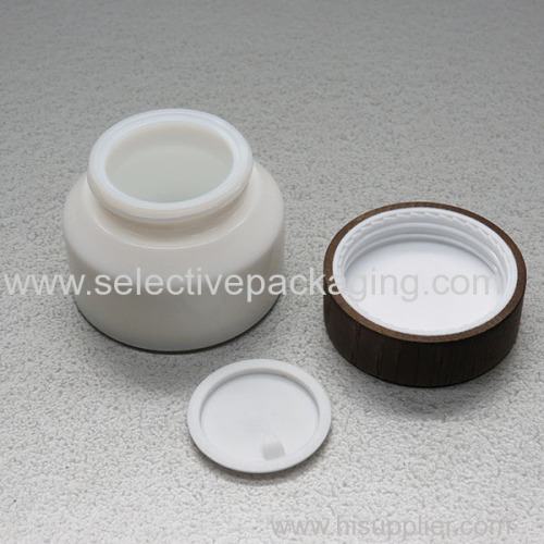 stock hot sell opal glass jar and bottle
