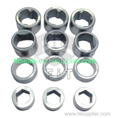 Tungsten carbide bearing. TC sleeves for vertical centrifuge pump