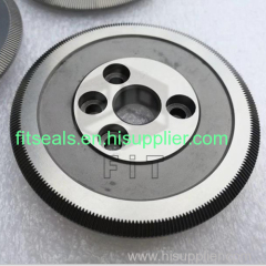 tungsten carbide customized wheel gear&rack