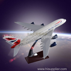 Static Model Aircraft OEM Airbus 380 British Airways Resin Manufacturer