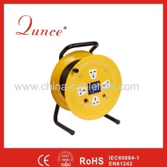 power supply cable reel with fuse&circuit breaker protected
