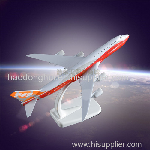 Metal Display Aircraft Model Boeing 747 Original Aircrafts Simulation Model Plane Manufacturer