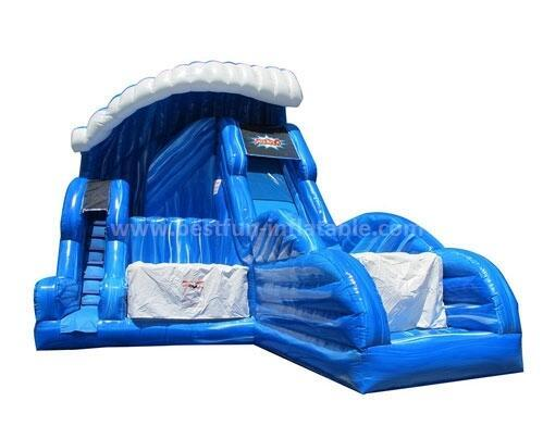 Why the kids are so love the inflatable slide