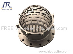 Flange foot valve screw foot valve/Stainless Steel Flanged Foot Valve with Strainer/ Water Pump Foot Valve