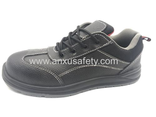 AX06006 leather safety shoes