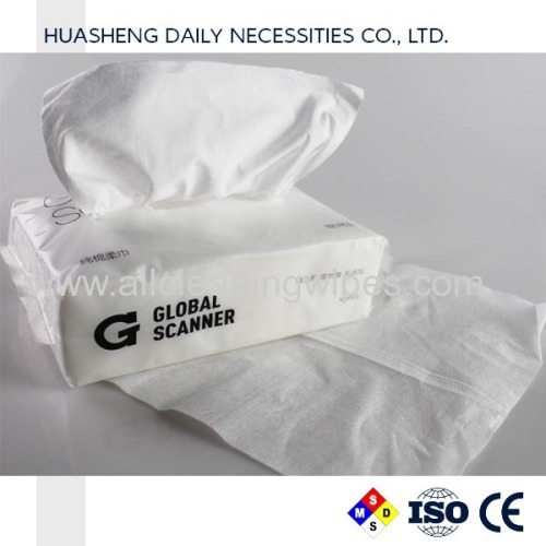 Facial cleaning tissue dry wipes spunlace nonwoven