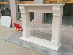 Marble Fireplace Mantel White Marble Surround