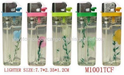 Wholesale gas electric lighter refillable windproof lighter
