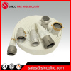 Fire hose with fire hose coupling