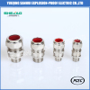 Metal IP68 double compression armored cable gland