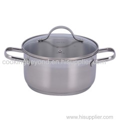 Premium Stainless steel cookware /casserole/saucepan 8 pcs set nice cooking tool