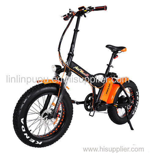 Addmotor MOTAN Electric Bicycle Bike 750W Power Folding Strong Frame 20 Inch Fat Tire Fork E-bike