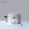 100% Cotton Luxury Hotel Towel Set With Customized Embroidery Jacquard Logo