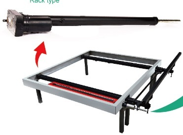 Rack type slide out system
