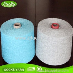 Lucky textile yarn for knitting and weaving regenerated yarn cotton blended yarn
