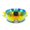 manufacturer wholesale new model TPU fram anti fog lens skydiving goggles ski snow goggles