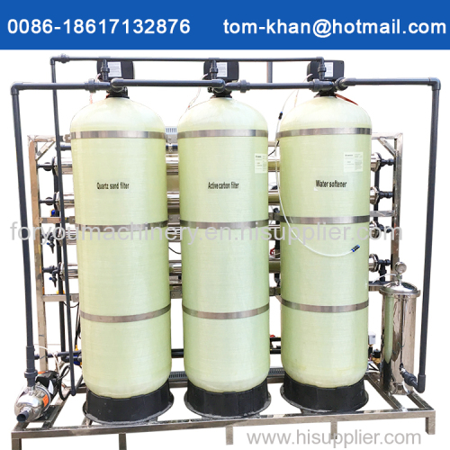 Industrial use reverse osmosis water treatment machine for drink