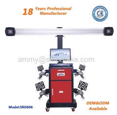 3D Four Wheel Aligner Wheel Alignment Camera with CE