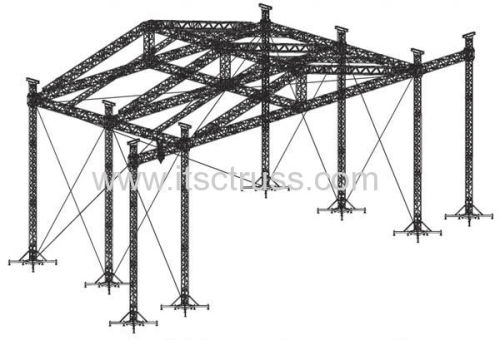Triangular Roof Truss Structure