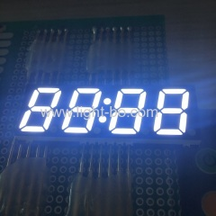 Ultra slim High bright white 14.2mm 4 Digit SMD LED Clock Display for Home Appliances