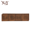 Faux wood wall panel for hotel house outside inside decorative