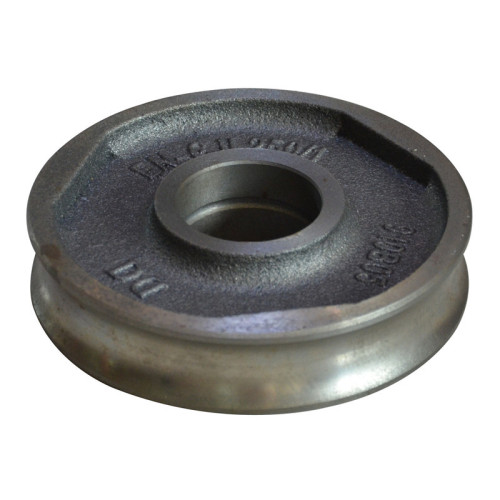 GG25 HT250 grey iron sand casting guide wheel cheap OEM China manufacturer