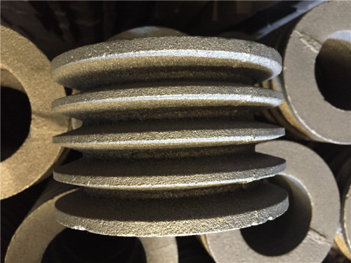 Gray cast iron pulley wheel suppliers cheap price heavy load capacities