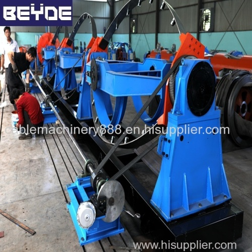 1+4+bow type stranding machine 1250/2500 take up unit cable making machine
