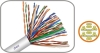 Telephone Cable Cat3 4 Pair Cat5e Cat6 Network Cables 305m 1m 2m 5m 3m Cat6 UTP Patch Cord