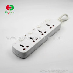 4 outlet Universal extension power socket