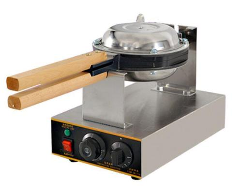Electric Egg Bubble Waffle maker Machine