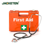 JACKETEN PLASTIC FIRST AID KIT EMERGENCY KIT MEIDICAL BAG OUTDOOR FIRST AID KIT