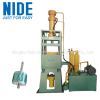 Automatic armature rotor die casting machine