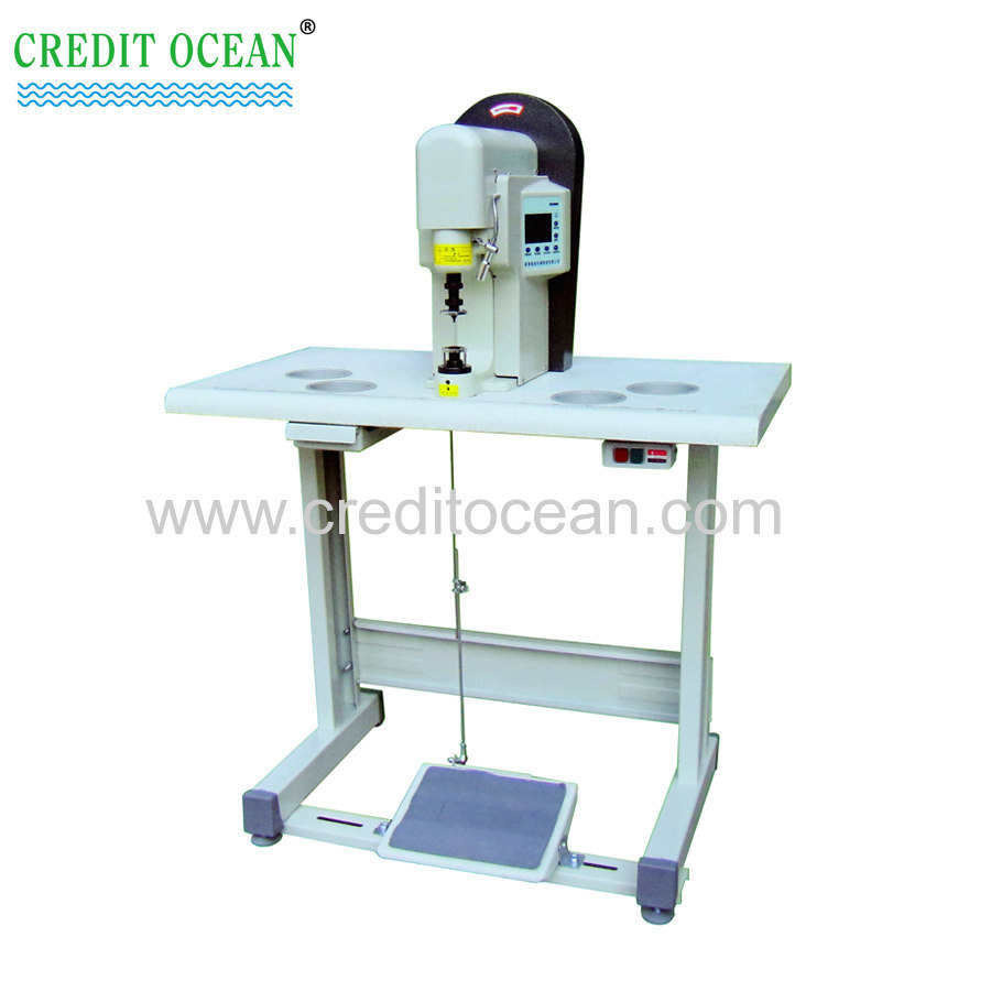 metal aglet lace tipping machine