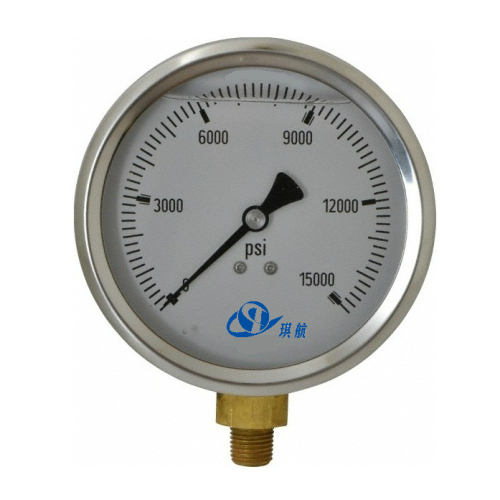 Pressure Gauge Manometer for Wellhead Assembly Xmas Tree