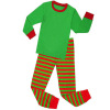 Children striped clothing sets winter long sleeve family Christmas pajamas wholesale Christmas pajamas kids