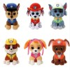 "High Quality 6"" 15cm Puppy Dogs Animal Action & Toy Figures for Children Puppet Baby Birthday Christmas Gift"