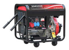 Diesel Generator Set 2kW/3kW/4.5kW/5.5kW/6kW With 4 wheels