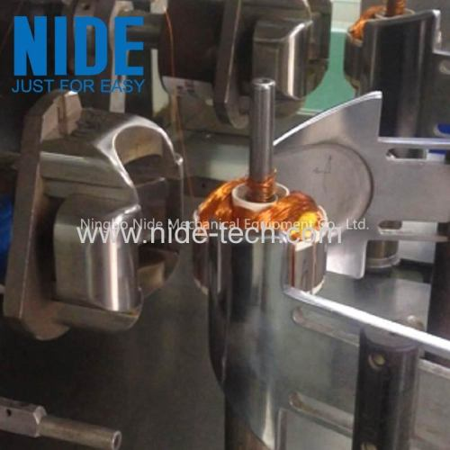 Flyer winder BLDC external armature winding machine for exhuast fan motor